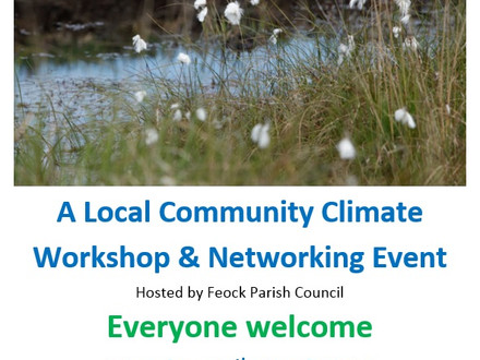 Local Community Climate Workshop & Networking Event
