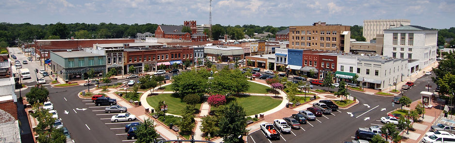 Gainesville Ga downtown water removal