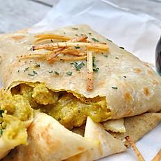 Trini Tofu Roti
