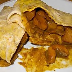 Trini Conch Roti