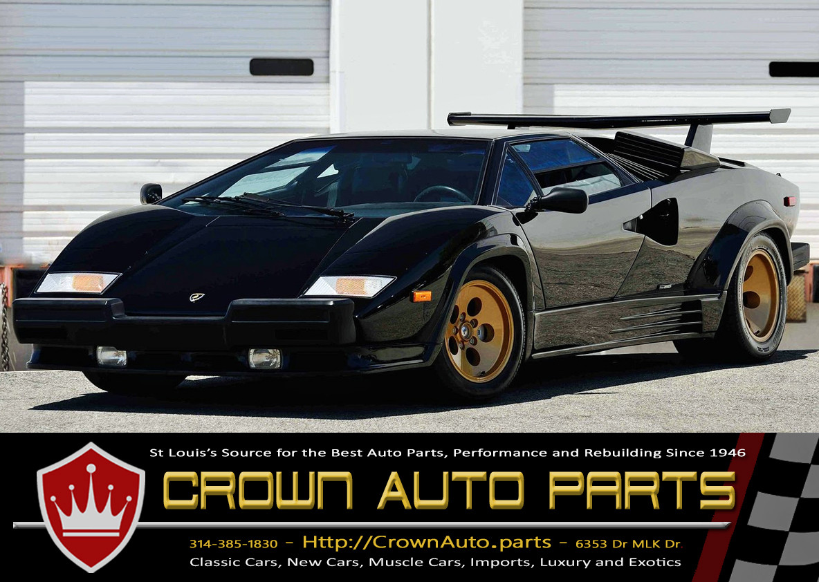 Crown Auto Parts Lamborghini Countach Auto Parts Rebuilders