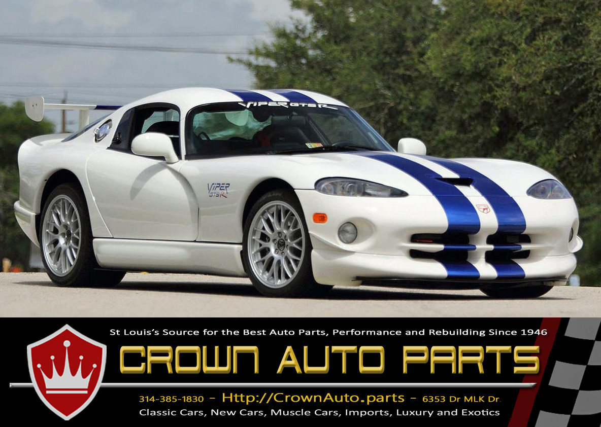 Dodge Viper at Crown Auto Parts Classic Car Parts Online