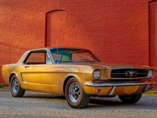 The 1965-1967 K-Code Ford Mustang