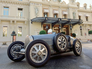 Bugatti Type 35B - 87 years after winning the first Monaco Grand Prix