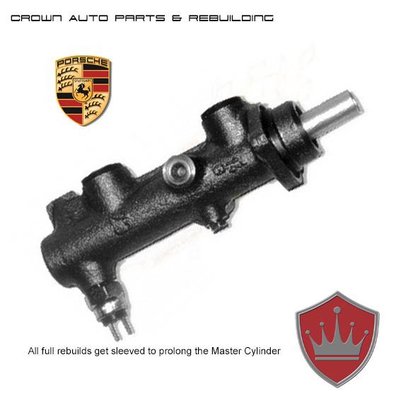 Classic Porsche Master Cylinder Rebuilding - Crown Auto Parts and Rebuilding St Louis Missouri