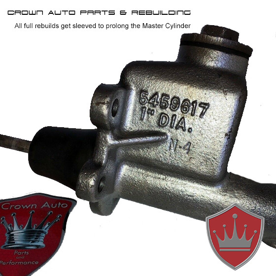 GM 5459617 Matching Numbers Master Cylinder - Crown Auto Parts and Rebuilding St Louis Missouri