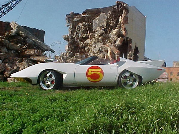 Crown Auto Parts Speed Racer Mach 5 af