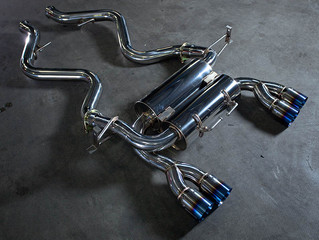 Agency Power Exhaust System BMW M3 Coupe E92 08-13 Titanium Tip