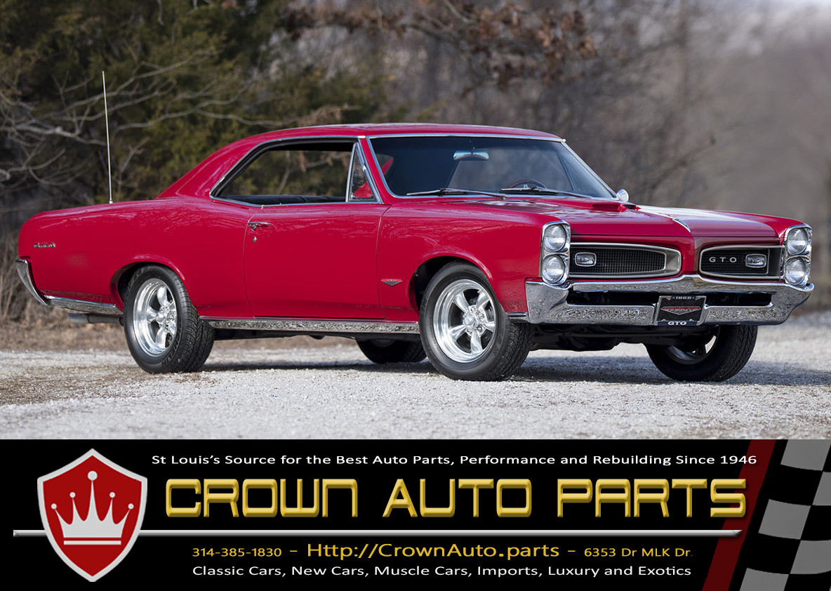 Crown Auto Parts Classic Car Parts for Pontiac GTO
