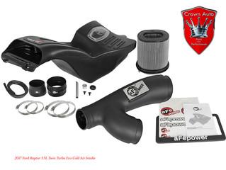 2017-2018 Ford Raptor HO 3.5L EcoBoost V6 aFe Momentum GT Pro Dry S Cold Air Intake Kit