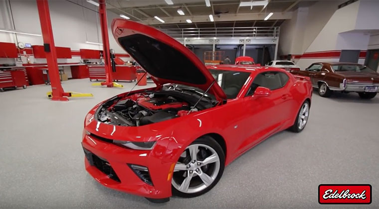 Edelbrock: E-Force Supercharger System for 2016 Camaro SS Crown Auto Performance