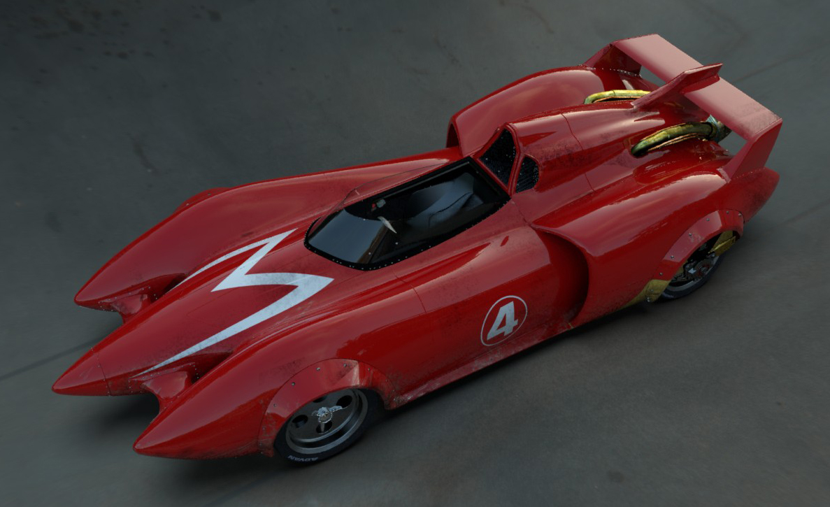 Crown Auto Parts Speed Racer Mach 5 acwef