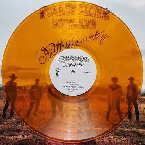 Filthy Country Vinyl LP (Orange)