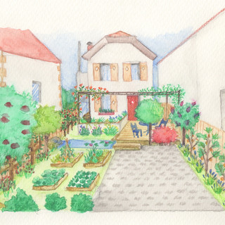 Jardin particulier Colombes