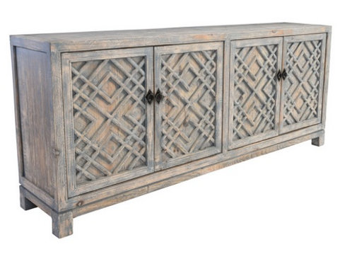 Collier Carved Cabinet