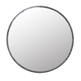 Howie Oversized Hammered Mirror