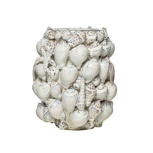 Handmade Shell Vase