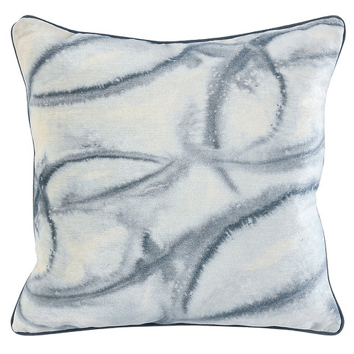 Saltwater Abstract Pillow