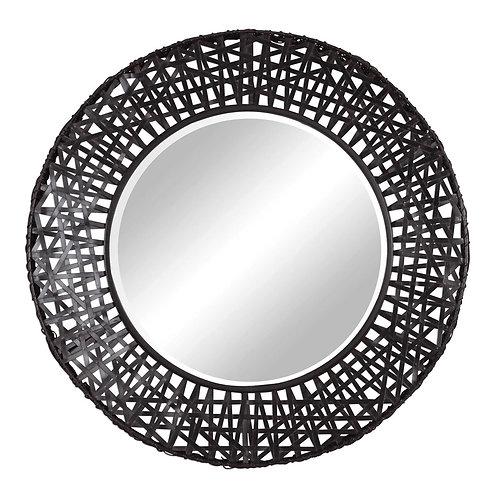 Olson Metal Round Mirror
