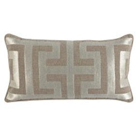 Metallic Modern Lumbar Pillow