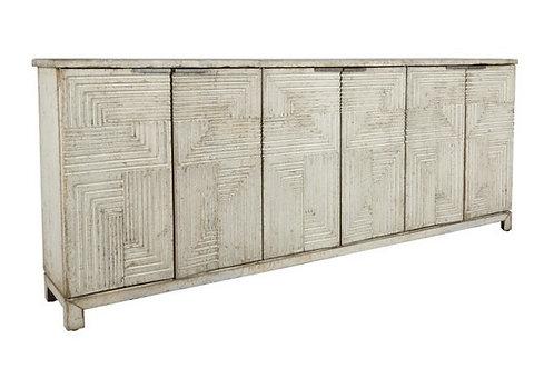 Ellie Geometric Cabinet