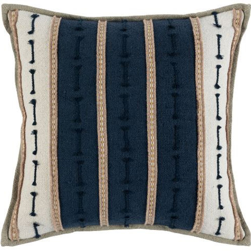 The Santa Barbara Navy Pillow