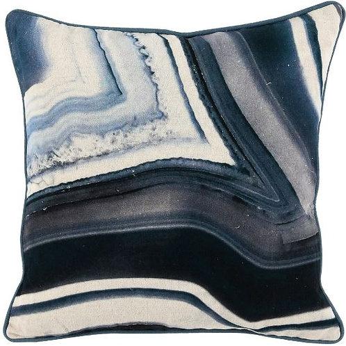 Agate Stone Print Pillow