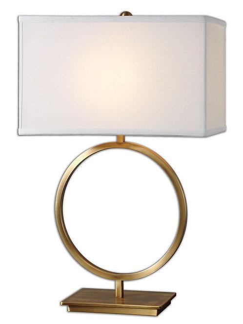 Sally Brushed Brass Lamp