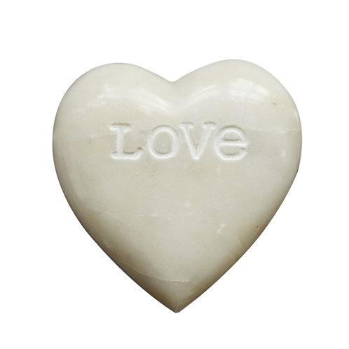 """Love"" Soapstone Heart"