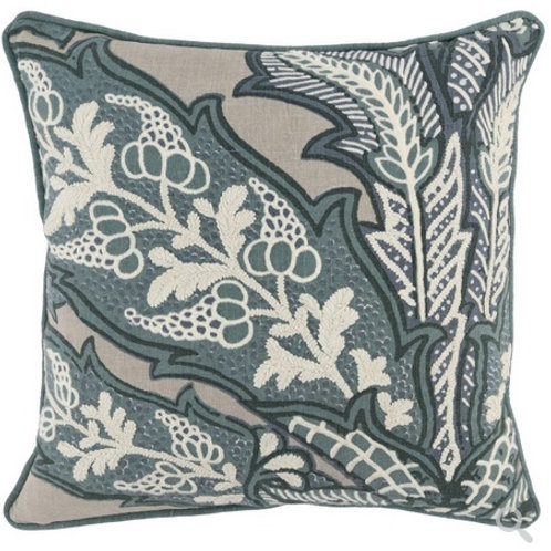 Saltwater Medallion Pillow