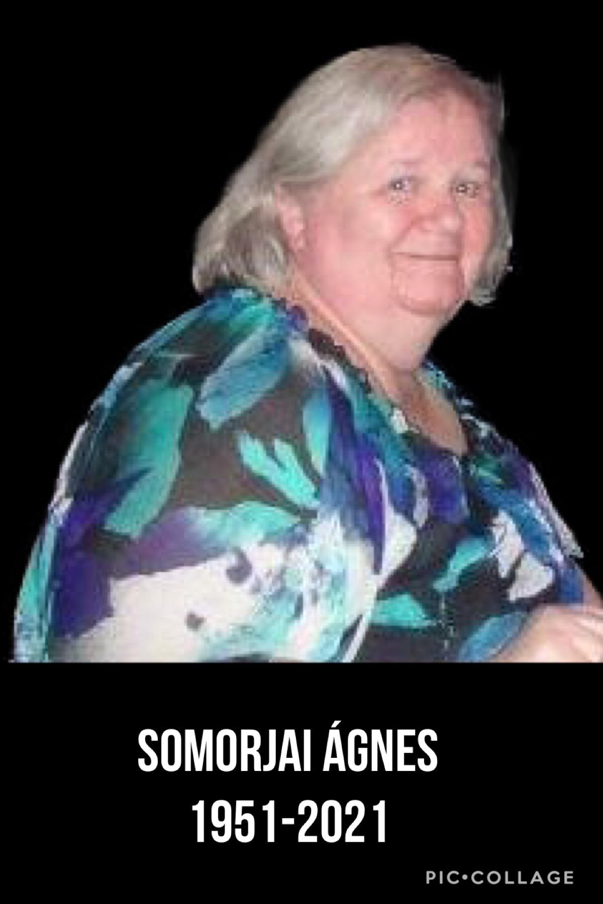 néhai Somorjai Ágnes
