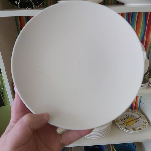 "8"" Coupe Salad Plate $25"