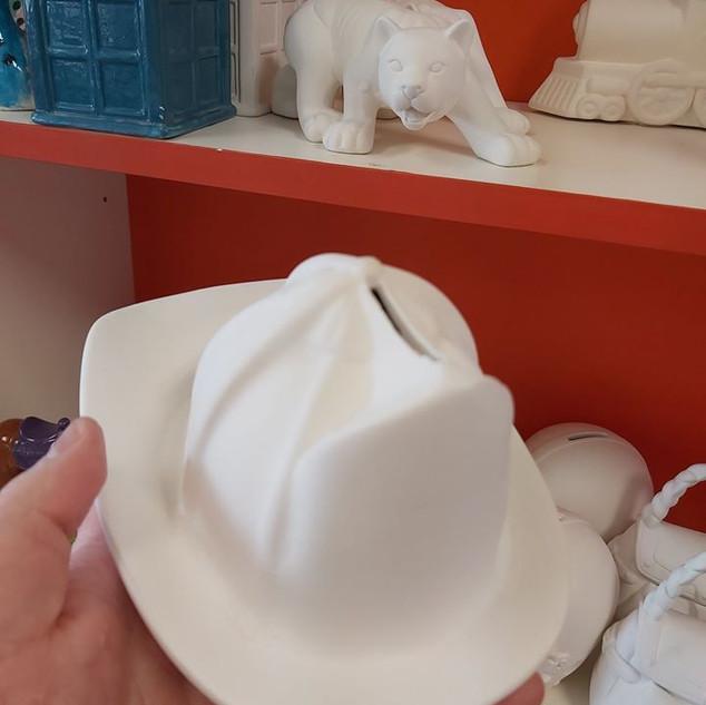 Fireman Hat Bank $28