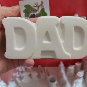 Dad plaque $22