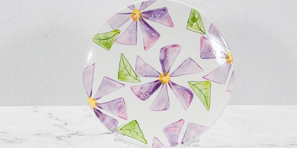 Spring Break Crafter-noon  - Wedge Flowers