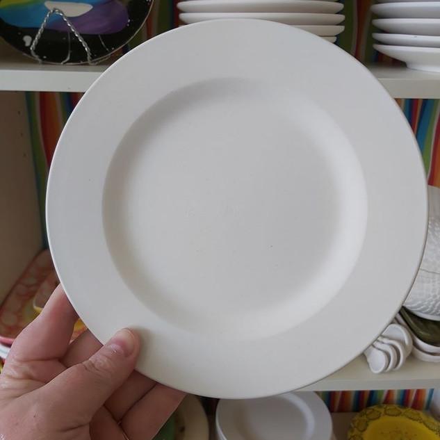"""8"""" Rimmed Salad Plate $25"""