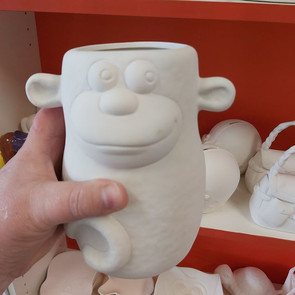 Quirky Monkey Planter $35
