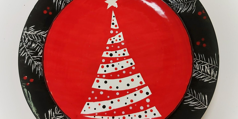 Holiday Dinner Plate Duo - Facebook Class Kit