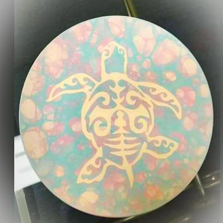 Kids Plate of the Month - Turtle-y Bubbles
