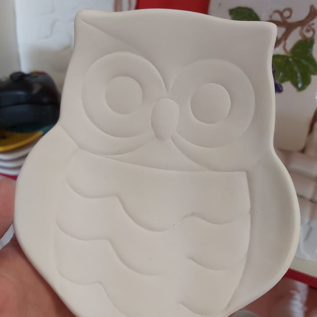 Medium Owl Plate
