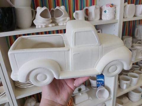 Vintage Truck Planter $65