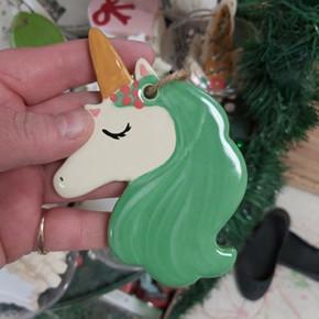 Unicorn Orn $12