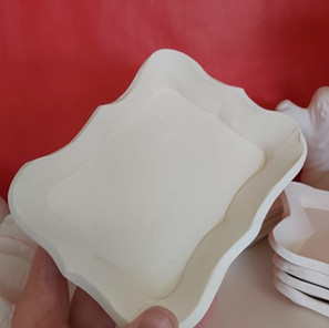 Perfectly Imperfect Dish Rectangle $20