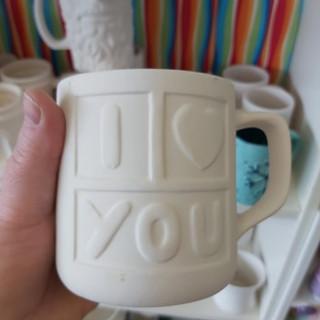I Love You Mug $35