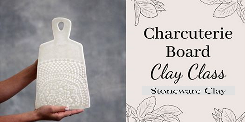 Facebook Live - Clay Charcuterie Boards
