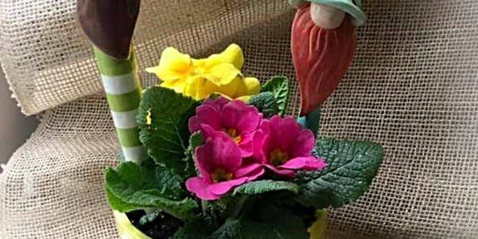 Spring Break Crafter-noon  - Gnome Garden Spikes