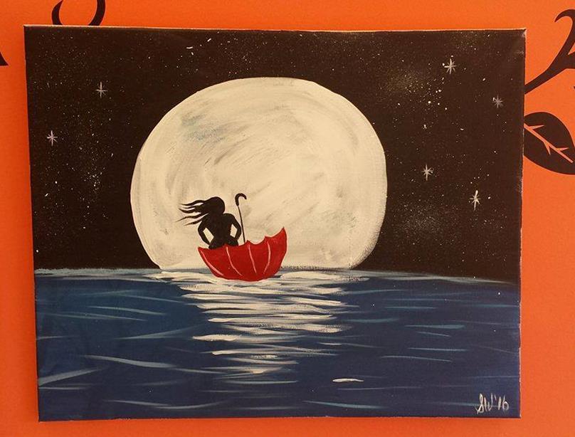 Sailing On a Moonbeam