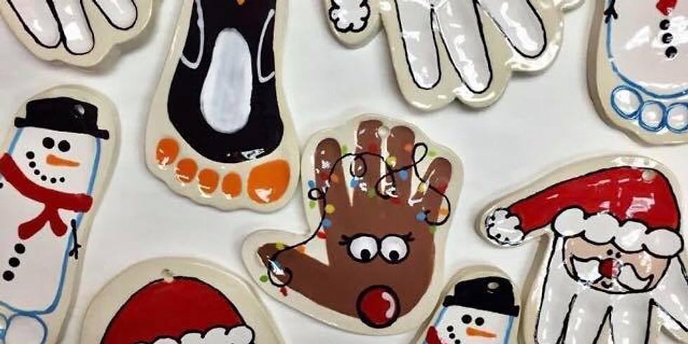 Handprint  & Footprint Ornaments