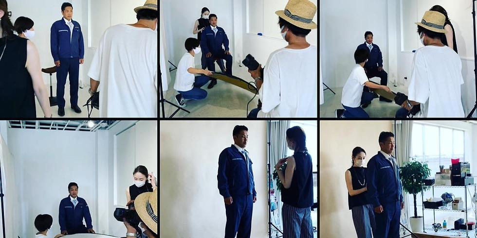 【事前予約専用フォーム】新たな自分をPresents プロが撮るプロフィール写真撮影会
