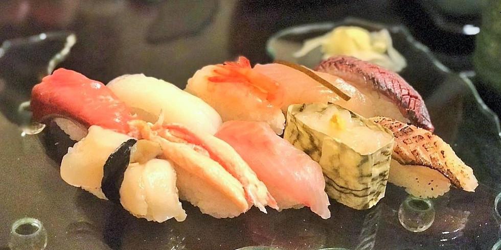 残席1名 :幸せを握ろう!富山の名店 鮨職人が教える、旬ネタ、握り鮨ワークショップ 定員10名